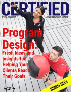 ACE - Certified™: Program Design Special Issue 2017 - High-intensity Interval Ideas for Your Classes and Clients High Intensity Workout, High Intensity Interval Training, Safe Program, 20 Minute Hiit Workout, Muscle Imbalance, Group Fitness Classes, Heath And Fitness, Continuing Education, Program Design
