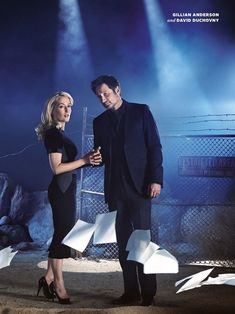 The x-files entertainment weekly | Entertainment Weekly's X-Files Reunion - Cheezburger