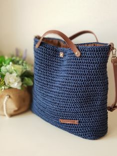 String Bag, Crochet Accessories, Yarn Crafts, Jute, Purses And Bags, Knit Crochet, Crochet Patterns, Crafty, Tote Bag