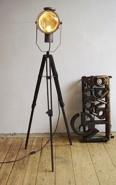 tripod lamp...