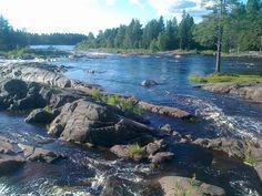 River Kiiminkijoki, Northern Ostrobothnia, Finland