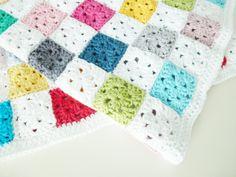 Crochet baby blanket pattern PDF  English US by annemariesbreiblog, €4.00