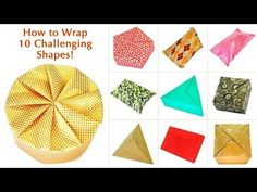 How to Wrap 10 Challenging Shapes!, My Crafts and DIY Projects