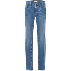 Clothing Le Skinny De Jeanne Jeans (715 PLN) ❤ liked on Polyvore featuring jeans, pants, bottoms, faded blue skinny jeans, faded jeans, skinny fit jeans, american blue jeans and button fly jeans