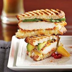 Chipotle Chicken Panini - Had a sandwich like this at Old Chicago once and wanted to find a recipe to duplicate it. This was pretty close and verrry good!