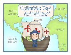 Christopher Columbus - includes vocabulary words, graphic organizers, map, writing ideas, and more!  TpT