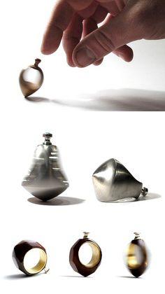 Visit Estonian jeweller Annika Kedelauk for some seriously playful work.