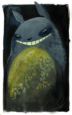 #Totoro is up to no good