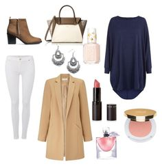 """""""Women"""" by madrilene on Polyvore featuring mode, 7 For All Mankind, H&M, Miss Selfridge, Vince Camuto, Child Of Wild, Isaac Mizrahi, Lancôme, Essie et women's clothing"""
