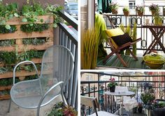 Decorate a Small Balcony - Inspired By... | Wayfair