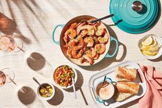 Caribbean Blue is an island-inspired hue, blended from the vibrant palette of a tropical seascape. Shop the Caribbean Blue collection in store or online at www.lecreuset.co.za. Le Creuset, Pork Stew, Jasmine Rice, Cast Iron Cookware, Updated Kitchen, Fresh Vegetables, Paella, Colorful Interiors, Family Meals