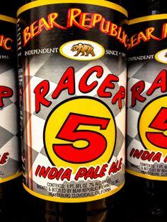 Bear Republic - Racer 5 India Pale Ale (IPA) Healdsburg CA by mbell1975, via Flickr