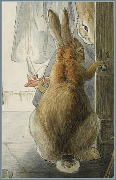 Beatrix Potter Rabbits' Christmas Party - The Departure | Content in a Cottage