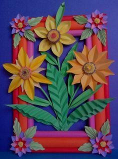 Kwiaty z papieru, ikebana, prace plastyczne, Dariusz Żołyński, flowers paper,   paper  flowers, orgiami, kirigami, wycinanki z papieru, papierowe kwiaty