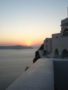 Santorini sunset #Fira #weddings