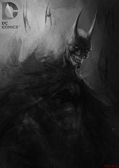 Batman: Gotham's Knightmare - fan art by AdduArt (Adnan Ali) More selected art by Adnan Ali [here] Im Batman, Batman Art, Batman Robin, Dc Comics Art, Fun Comics, Marvel Dc Comics, Illustration Batman, Batman Redesign, Univers Dc