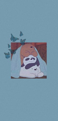 《cute aesthetic we bare bears wallpaper》 Cartoon Wallpaper Iphone, Iphone Wallpaper Tumblr Aesthetic, Disney Phone Wallpaper, Aesthetic Pastel Wallpaper, Cute Cartoon Wallpapers, Soft Wallpaper, Bear Wallpaper, We Bare Bears Wallpapers, Animated Icons