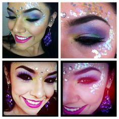 Halloween Makeup look (me: Lindsey Lopez)