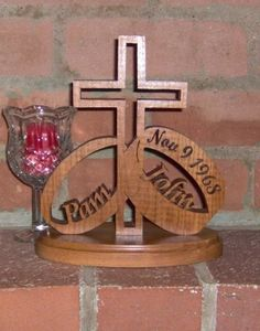 Woodworking Cross Patterns | Sylvias wedding cross - Scroll Saw Woodworking & Crafts Message Board