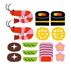 Shunsuke Satake Illustration - Posts tagged pattern