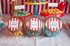 circus party free printables.