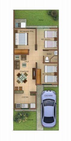 Planos makeup ideas for unicorn - Makeup Ideas 3d House Plans, Small House Floor Plans, Model House Plan, House Layout Plans, Duplex House Plans, Dream House Plans, House Layouts, Duplex House Design, House Front Design