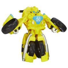 """Playskool Heroes Transformers Rescue Bots Bumblebee Figure - Hasbro - Toys """"R"""" Us Transformers Bumblebee, Hasbro Transformers, Transformers Characters, Rescue Bots, Black Friday Specials, Robot Action Figures, Star Wars Toys, Gifts For Boys, Motorcycle"""