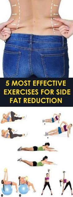 Learn to Burn Fat in 2 Minutes - 5 Most Effective Exercises for Side Fat Reduction Learn to Burn Fat in 2 Minutes - Belly Fat Burner Workout Side Fat Workout, Belly Fat Workout, Fat Burning Workout, Stomach Workouts, Tummy Workout, Hard Workout, Belly Fat Burner, Burn Belly Fat, Bridge Workout