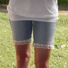 Lace Trim Shorts - Simple Sewing Project