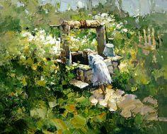 Alexi Zaitsev-Tirer l'eau au vieux puits