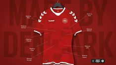 Unique #Denmark Nostalgic Shirt 2018 Made By #Hummel #Footballshirt
