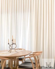 Featuring Warwick Fabrics - Paros Snow The perfect way to dress up the formal dining room is installing floor to ceiling sheers to create instant sophistication Warwick Fabrics, Paros, Curtains With Blinds, Drapery, Dress Up, Dining Room, Window, Ceiling, Flooring