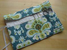 cutecrocs.com crochet hook case (28) #crocheting