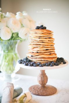 Blueberry pancakes: http://www.stylemepretty.com/living/2015/02/12/our-favorite-breakfasts-in-bed-for-v-day/