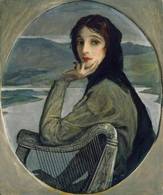 Portrait of Mrs. Lavery by Sir John Lavery