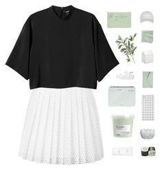 """you're the antidote for everything ✿"" by thenewgirl3 ❤ liked on Polyvore featuring McQ by Alexander McQueen, Monki, Off-White, Davines, Hermès, Pier 1 Imports, Danielle Nicole, BIA Cordon Bleu, CB2 and Topshop"