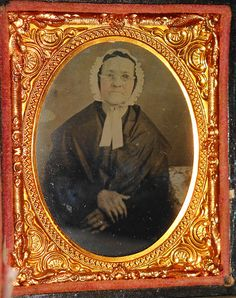1/9 Plate Ambrotype of a Quaker Woman