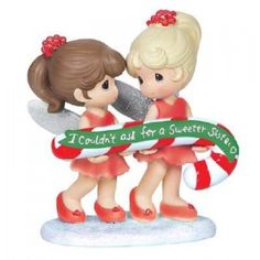 Precious Moments Sweeter SIster Sugar Plum Fairy Mini Figurine New 2015 151404