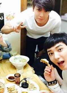 Donghae and Leeteuk - Super Junior