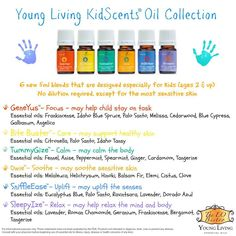 Young Living Essential Oils: KidScents Oils Collection #youngliving #essentialoils #kidscents For more info or to order, come visit me at: www.chi-to-be.com o