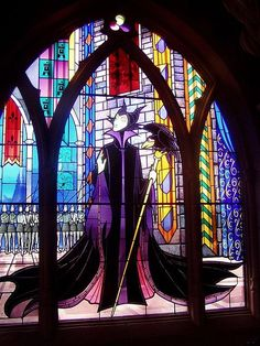disney stained glass art |