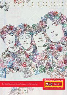 "Ram Fm: ""The Beatles"" Ambient Advert  by Gitam/bbdo"