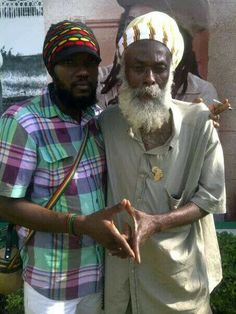 Father & son Ras Flako