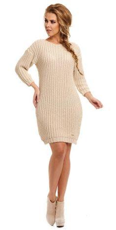 https://www.mokado.pl/Sukienka-Model-Zibi-LS157-Beige-p18991 #sukienka#mokado#odziez#moda#Fashion#trendy