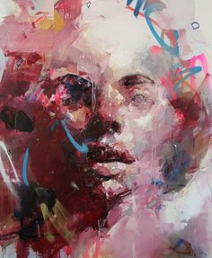 Ryan Hewett, South African born Artist based in Cape Town. Recent works include 'Untitled'. He has displayed work at the Unit Gallery London and the Barnard Gallery in Cape Town. Abstract Portrait, Portrait Art, Art And Illustration, Painting Inspiration, Art Inspo, Figurative Kunst, South African Artists, A Level Art, Art Design