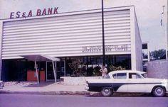 Darwin's E.S. & A Bank Smith Street 1959 Darwin Nt, Australia, History, Street, Places, Outdoor Decor, Blackberry, Vanilla, Color