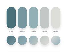 Color Palette For Home, Flat Color Palette, Colour Pallette, Colour Schemes, Ui Color, Gradient Color, Cabinet Medical, Web Design, Clinic Design