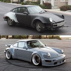 Transformation of my 964
