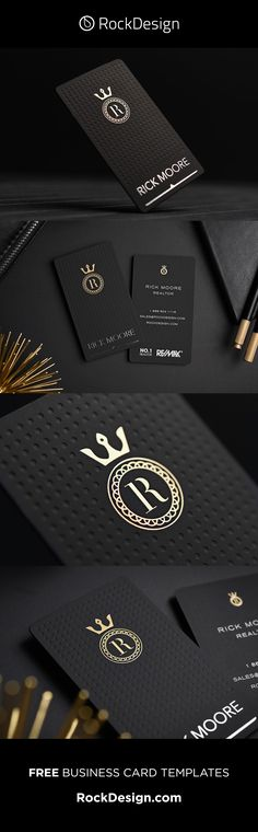 Find inspiration by browsing RockDesign's AMAZING free business card templates. Using black suede and foil stamping, our templates improve your branding. Business Pens, Metal Business Cards, Business Holiday Cards, Luxury Business Cards, Business Card Design, Business Printing, Free Business Card Templates, Free Business Cards, Websites Like Etsy