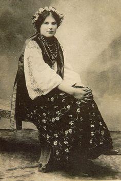 Дівчина з м. Кобиляки ( Полтавщина ), поч.ХХ ст.
